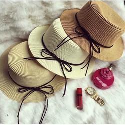 Mũ nón cói đi biển thời trang
