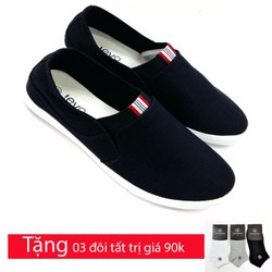 Giày lười vải chất  liệu cao cấp TX664D