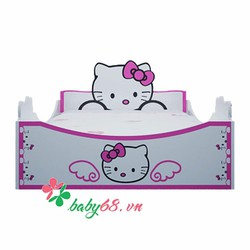 Giường Hello kitty 1m4