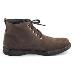 Giày cao cổ 2379-n da lộn màu nâu