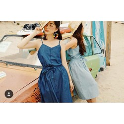 Đầm Denim Jea