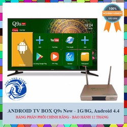 Android TV Box Q9s New 2017 - Ram 1GB, Android 4.4.4