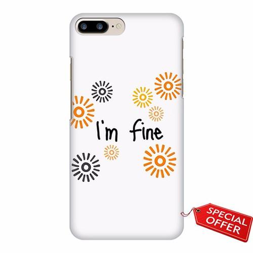 Ốp lưng Iphone 7 Plus_Art Words_Im fine