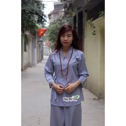 Quần áo đi chùa Tịnh Xưa Quán, Quần áo Phật tử, áo lam đi chùa