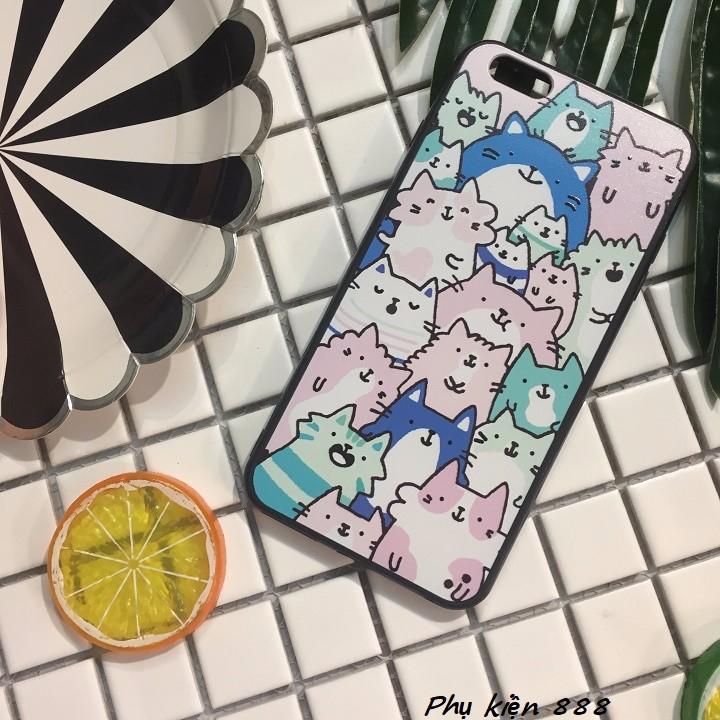 Ốp lưng Iphone 6 plus nhiều mèo 7