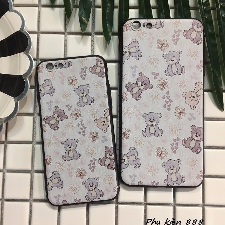 Ốp lưng Iphone 6,6s, 6 plus họa tiết gấu 5