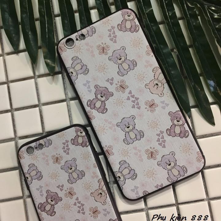 Ốp lưng Iphone 6,6s, 6 plus họa tiết gấu 3
