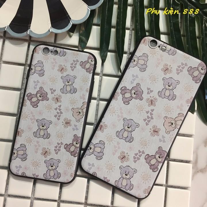 Ốp lưng Iphone 6,6s, 6 plus họa tiết gấu 7