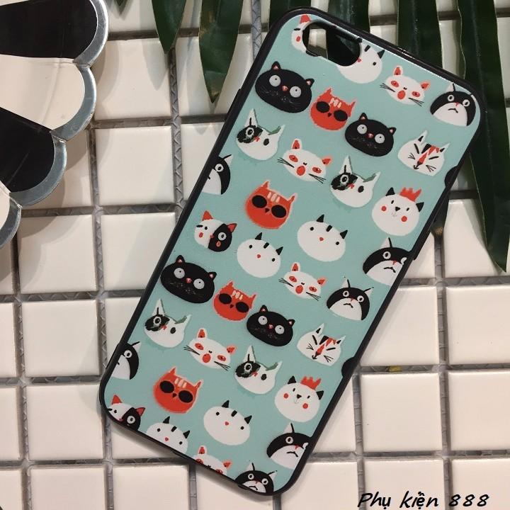 Ốp lưng Iphone 6,6s đầu mèo 3