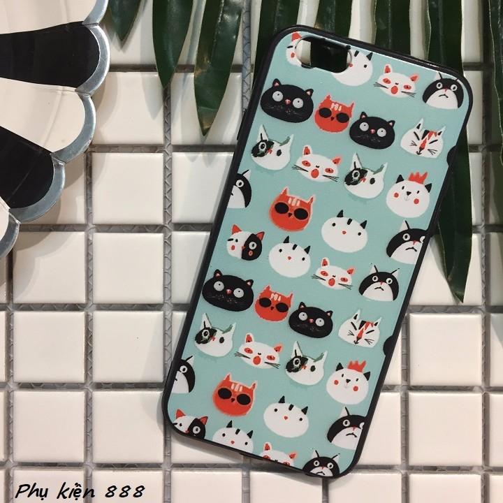 Ốp lưng Iphone 6,6s đầu mèo 5