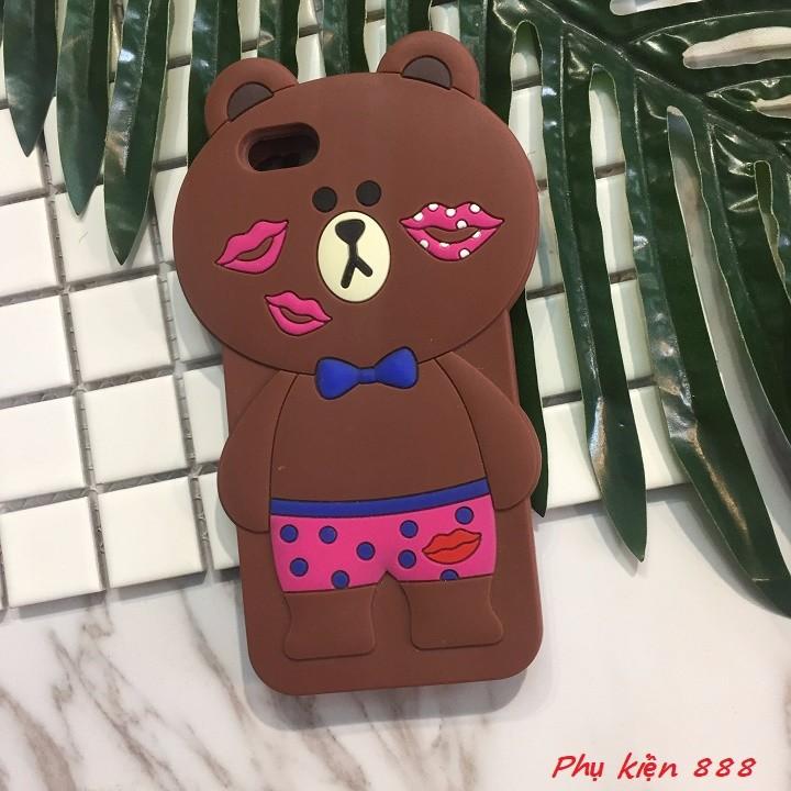 Ốp lưng Iphone 6,6s gấu kiss 5