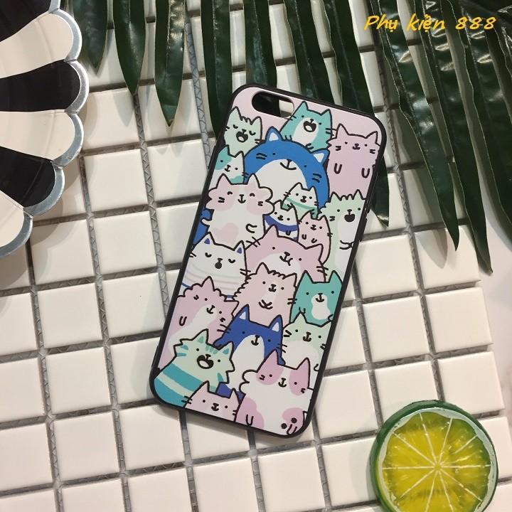Ốp lưng Iphone 6,6s nhiều mèo 5