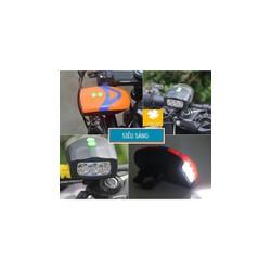 Đèn xe đạp kiêm còi xe