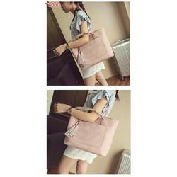Túi đeo chéo hồng nhung