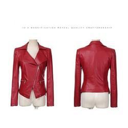 Áo vest da có túi hàng chuẩn đẹp