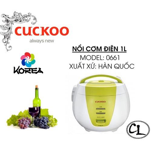 Nồi cơm điện Cuckoo CR-0661