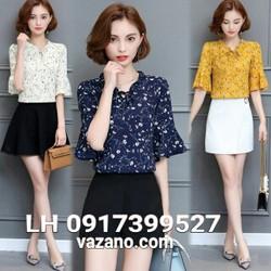 Áo kiểu nữ áo sơ mi công sở thời trang Hàn Quốc R16TP10