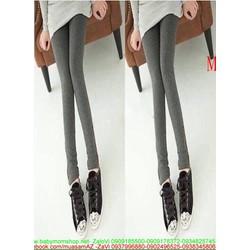 Quần legging nữ phom ôm dáng đẹp thiết kế đơn giản