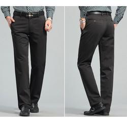 Xả hàng quần kaki trung niên nam -Size 28-Xám đất
