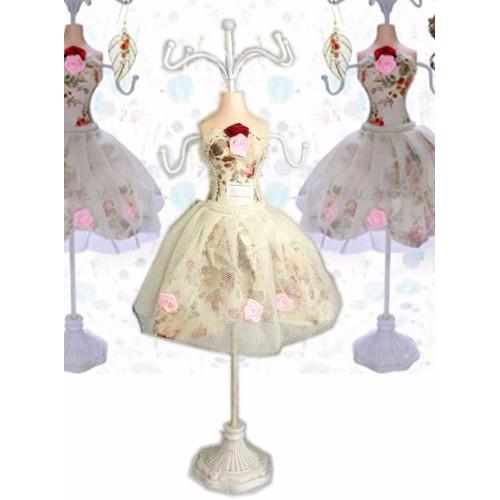treo trưng bày nữ trang - Búp bê décor Vintage, cao 38cm