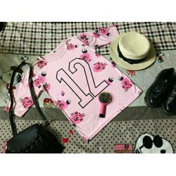 Áo thun hoa 12