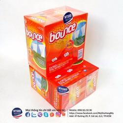 Khăn giấy giặt thơm BOUNCE 160 tờ - USA chính hãng