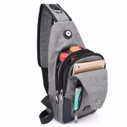 Túi đeo chéo USB