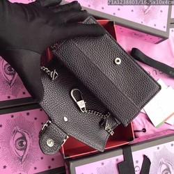 Túi GC khóa rồng màu đen