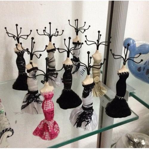 treo trang sức, trưng bày nữ trang - Búp bê décor nhỏ 15cm