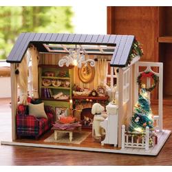 Mô hình nhà gỗ DIY Nhật Bản - Garden house
