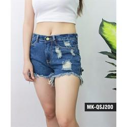 Quần short jean nữ rẻ đẹp