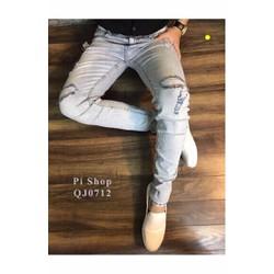Quần Jeans nam thời trang, kiểu dáng mới cá tính, thời trang Âu Mỹ