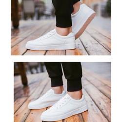 giày thể thao nam 3 màu đen ,trắng , màu bò