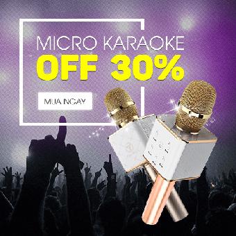 Micro karaoke OFF 30%