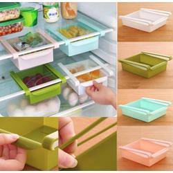 Khay đựng thực phẩm, thức ăn chứa đồ tủ lạnh Bộ 4 cái