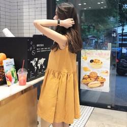 Đầm thun trẻ trung năng động, phong cách Hàn Quốc
