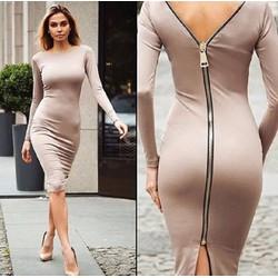 Đầm nữ thời trang, thiết kế thanh lịch sang trọng, phong cách Châu Âu