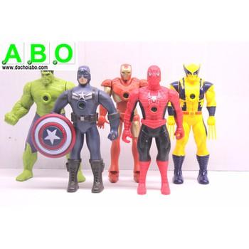 Bộ 5 siêu anh hùng Anvenger - Mô hình siêu nhân