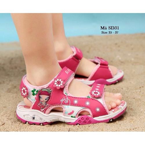 Giày sandal bé gái đi học đi chơi mùa mưa mùa nắng