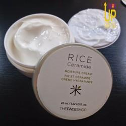 Kem Dưỡng Da Gạo Rice Ceramide Moisture - The Face Shop
