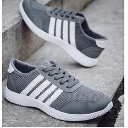 giày thể thao nam  siêu nhẹ 3 màu đen ,xám ,xanh
