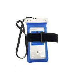 Túi chống nước phao cho điện thoại Blue