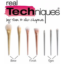 Set cọ trang điểm The Bold Metals Collection by Real Techniques