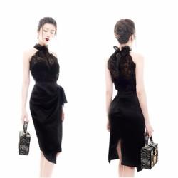 Bộ váy áo rời đẹp phong cách trẻ trung X10041