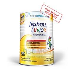 Sữa Nutren Junior - Cho Trẻ Suy Dinh Dưỡng, Kém Hấp Thu 400g