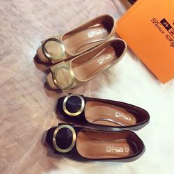 Giày cao gót da mềm cực êm chân