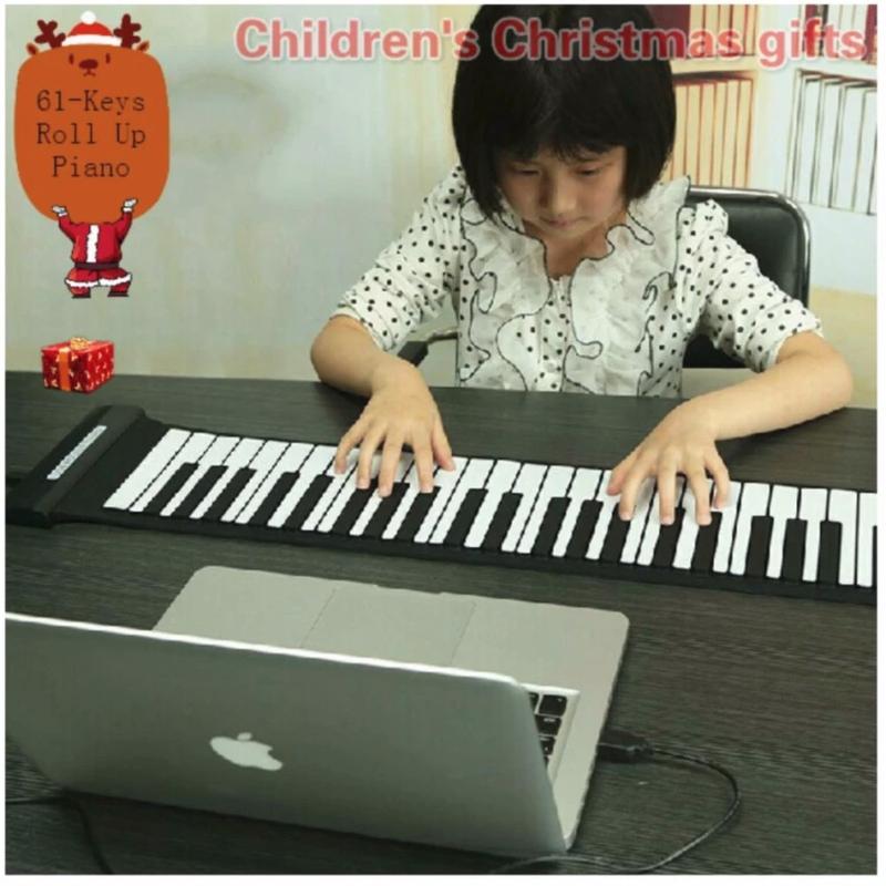 Đàn piano - Đàn Piano Cuộn Soft Keyboard Piano 49 Keys 5