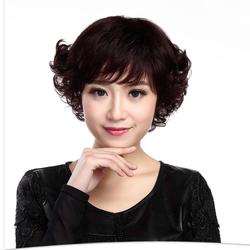 Tóc nữ cao cấp làm từ tóc thật NE039