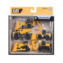 Bộ 5 xe công trường xây dựng CAT