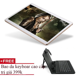 máy tính bảng lai laptop MTK 6582 HD 2K 10inch Cortex A9 Ram 2G 2sim